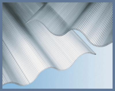 Polikarbonát hullámlemez szerkezete